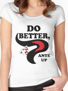 Do Better Women's Fitted Scoop T-Shirt