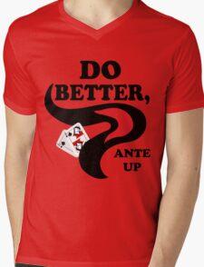 Do Better Mens V-Neck T-Shirt