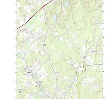 Maine USGS Historical Map Lisbon Falls North 20110902 TM by wetdryvac