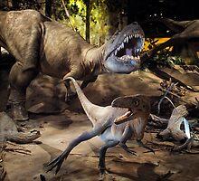 Tyrannosaurus Rex @ Royal Tyrrell Museum of Palaeontology by Yukondick
