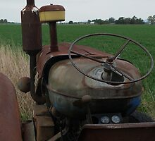 Old tractor by Tim Everding