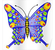 Colorful Butterfly Poster