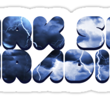 Dark Sky Paradise - Blue Storm Sticker