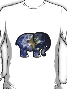 Trippy Elephant Earth T-Shirt