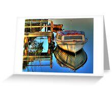 Still Waters Marlo Vic. Greeting Card