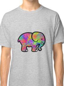 Trippy Elephant Classic T-Shirt