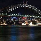 Sydney Harbor Bridge by Nathan Russell