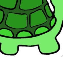 I'm SlowerThen  A Herd Of Turtles Stampeding Through Peanut Butter Sticker