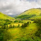 Glenfinnan Viaduct by eddiej