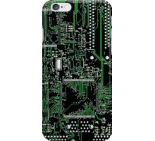 Circuit Board Green iPhone Case/Skin