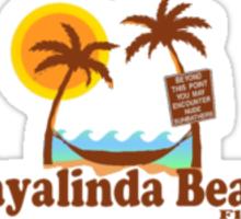 Playalinda Beach. Sticker