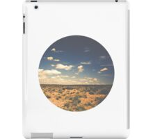 Wide Open West Sand Sun and Sage iPad Case/Skin