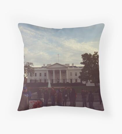 Washington DC Throw Pillow