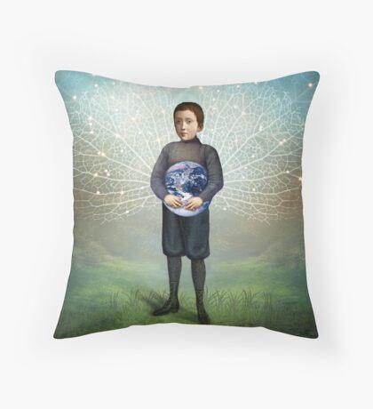 Small Hero Throw Pillow