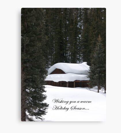 Warm Holidays! Canvas Print