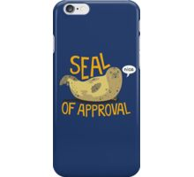 Seal of Approval iPhone Case/Skin