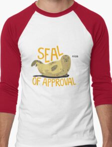 Seal of Approval Men's Baseball ¾ T-Shirt