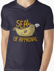 Seal of Approval Mens V-Neck T-Shirt