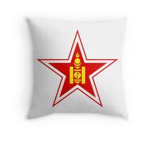 Roundel of the Mongolian Air Force Throw Pillow