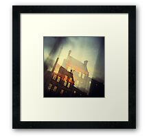 Dublin - window view  Framed Print