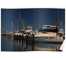 Challenger Boat Harbour - Fremantle Poster