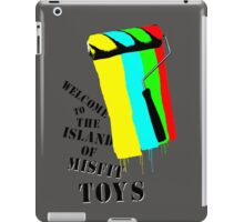 Welcome To The Island Of Misfit Toys iPad Case/Skin