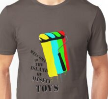 Welcome To The Island Of Misfit Toys Unisex T-Shirt