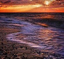 Thorpeness Beach Suffolk 13. by Wayne Bradshaw