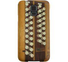 Keyboard and Woodwind Music Collage Samsung Galaxy Case/Skin
