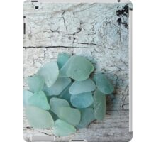 Sea Foam Sea Glass Shades iPad Case/Skin