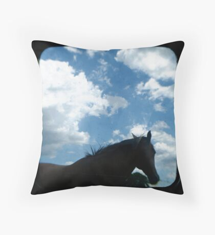 Station Life Throw Pillow