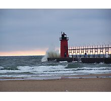 south haven light house Photographic Print