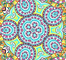 Kaleidoscopic Whimsy by SRowe Art