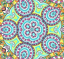 Kaleidoscopic Whimsy by Shawna Rowe