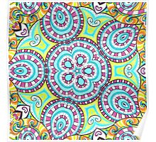 Kaleidoscopic Whimsy Poster