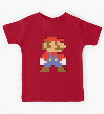 Super Mario 3D World Mario Sprite Kids Tee