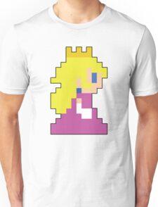 Super Mario 3D World Peach Sprite Unisex T-Shirt