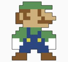 Super Mario 3D World Luigi Sprite by NiGHTSflyer129