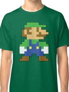 Super Mario 3D World Luigi Sprite Classic T-Shirt