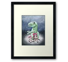 Kimmy and Rex Framed Print