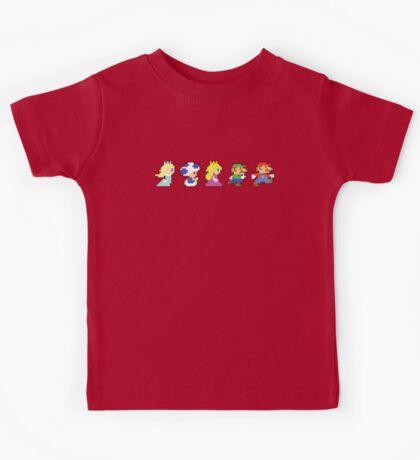 Super Mario 2D World Kids Tee