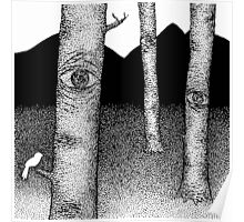 Nature is Watching Poster