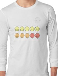 Healthcare Companion Pain Scale Long Sleeve T-Shirt