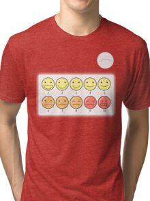 Healthcare Companion Pain Scale Tri-blend T-Shirt