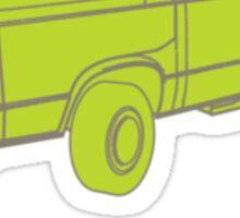 Westfalia Outlined Sticker