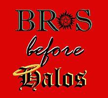 Bros before Halos! by luvchildofelvis