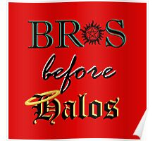 Bros before Halos! Poster
