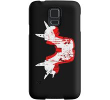 Shoulder Pads of Doom 2000 Design (Black) Samsung Galaxy Case/Skin