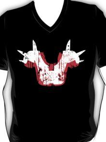 Shoulder Pads of Doom 2000 Design (Black) T-Shirt