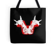 Shoulder Pads of Doom 2000 Design (Black) Tote Bag